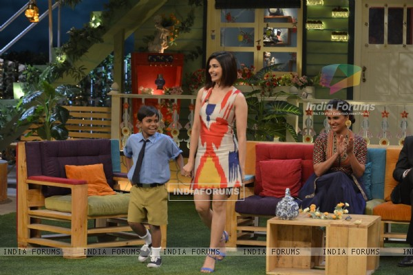 Prachi Desai for Promotions of 'Azhar' on 'The Kapil Sharma Show'