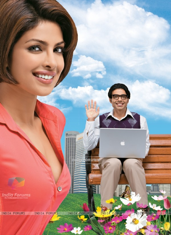 Priyanka and Uday in the movie Pyaar Impossible