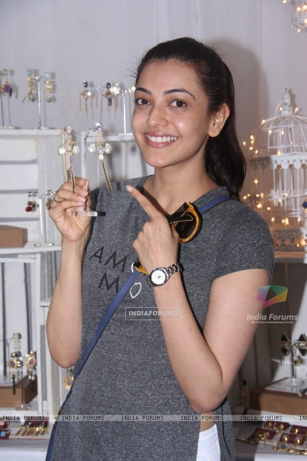 Kajal Aggarwal at Stylecracker Borough Event