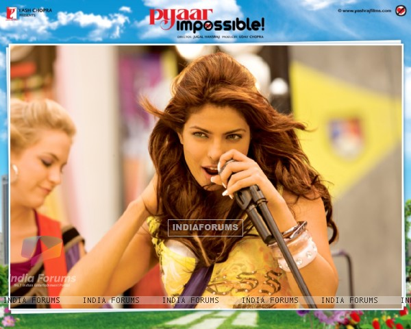 Wallpaper of Pyaar Impossible movie with Uday Chopra