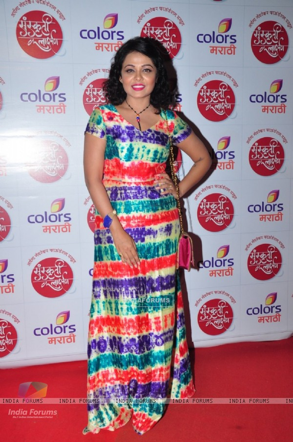 Celebs at Color's Marathi Awards