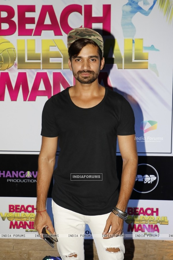 Vishal Singh at Beach Volley Ball Mania