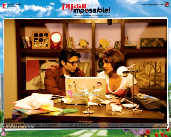 Pyaar Impossible movie wallpaper with Priyanka and Uday (40424)