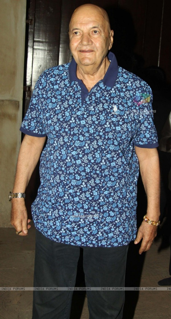 Prem Chopra at Mahurat of Film Sayonara Phir Milenge at Lahiri House