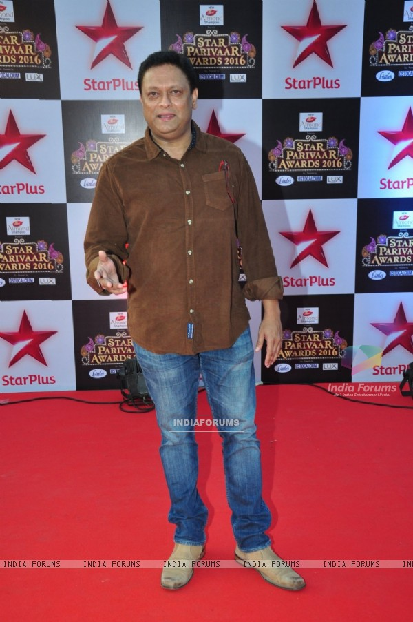 Kiran Karmarkar at Star Parivar Awards Red Carpet Event