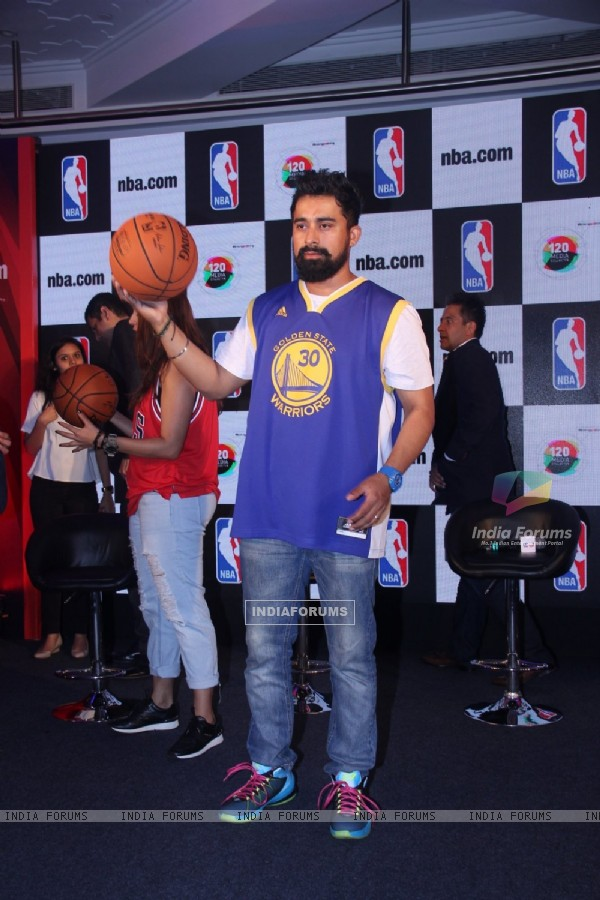 Rannvijay Singh at Launch of NBA.com