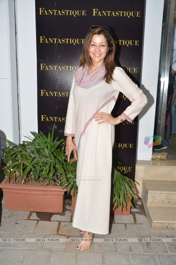 Aditi Gowitrikar at Abu Jani Sandeep Khosla's Fantastique store launch