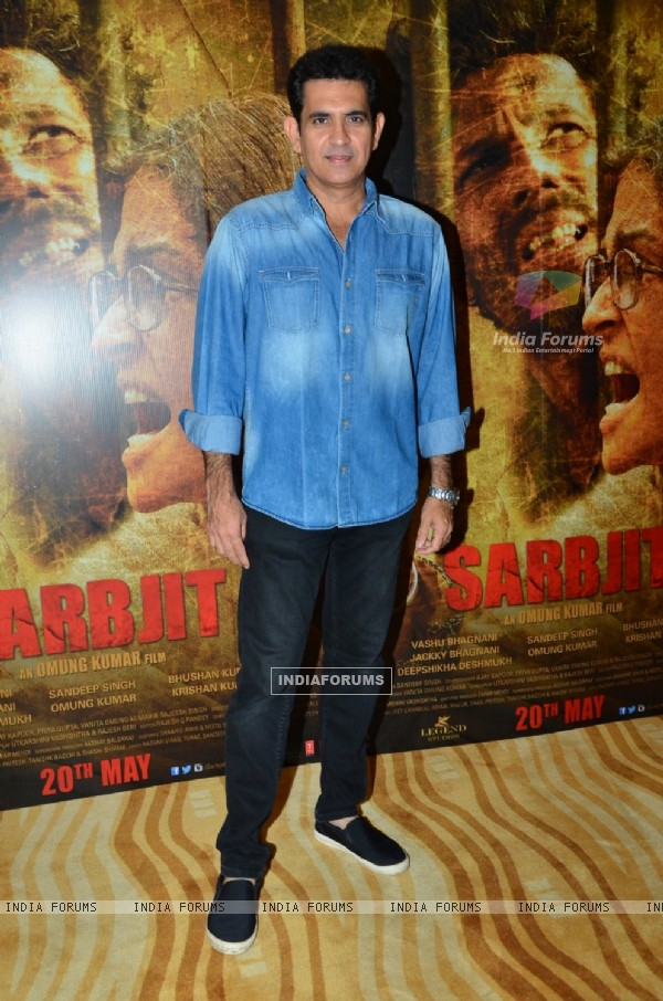 Omung Kumar at Song Lauch of 'Sarabjit'