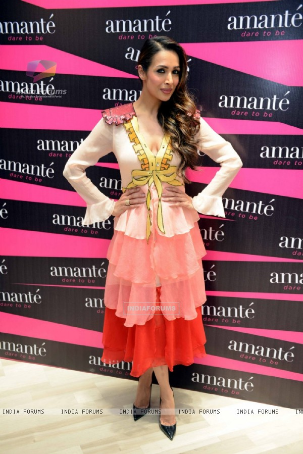 Malaika Arora Khan at 'Amante' Launch in Delhi