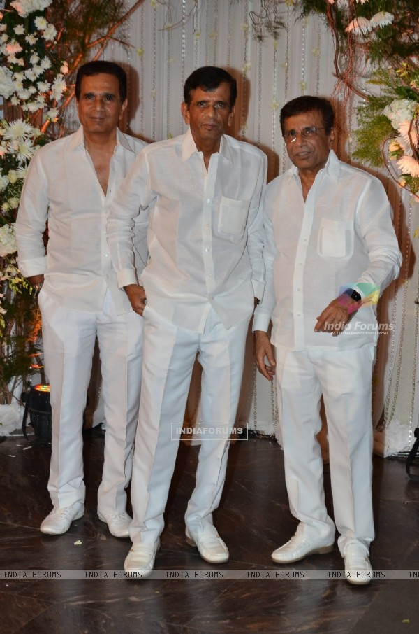 Abbas-Mastan Burmawala Bros at Karan - Bipasha's Star Studded Wedding Reception