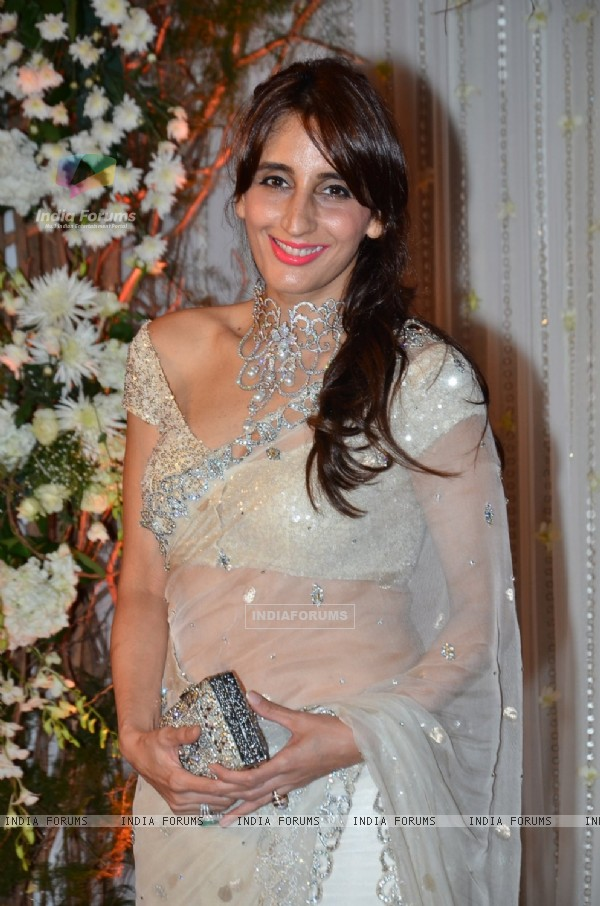 Farah Khan Ali at Karan - Bipasha's Star Studded Wedding Reception