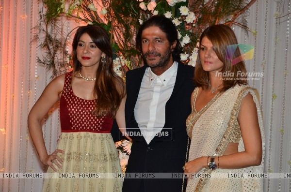 Chunky Pandey at Karan - Bipasha's Star Studded Wedding Reception