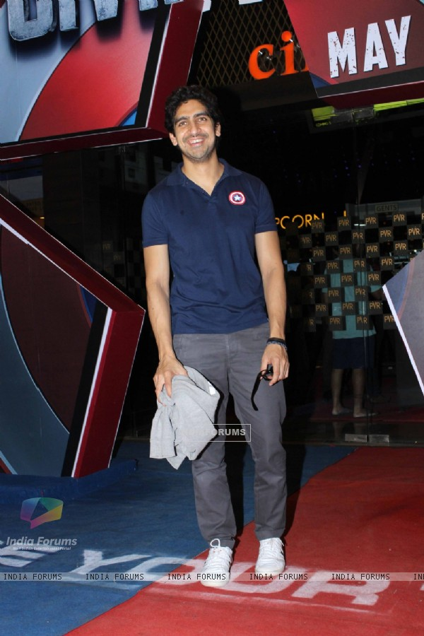 Ayan Mukerji at Screening of Captain America: Civil War