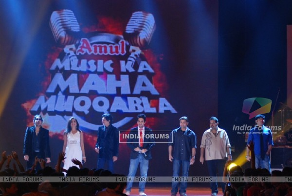 All the captains battels it out in a clash of the titans on Music Ka Maha Muqabla