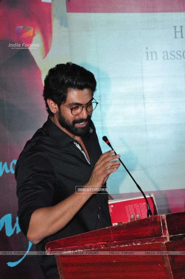 Rana Daggubati at Launch of the Book 'The Dance of Durga'