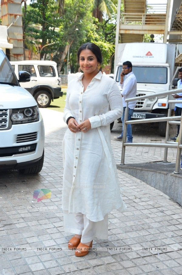Vidya Balan at Trailer Launch of 'TE3N'