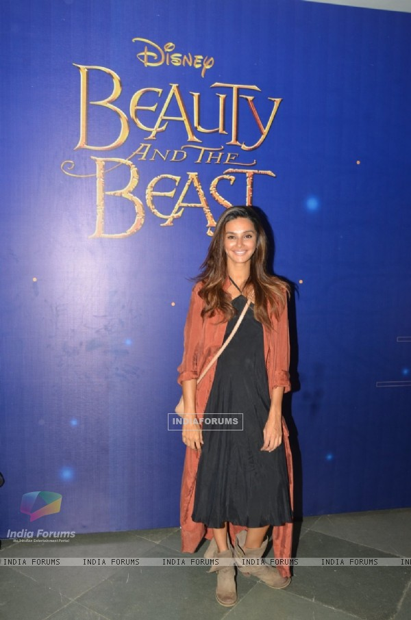 Shibani Dandekar at Special Screening of Disney's 'Beauty and the Beast'