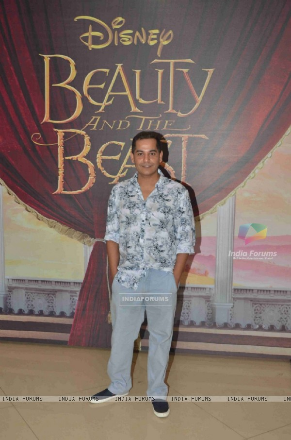 Gaurav Gera at Special Screening of 'Beauty and the Beast'