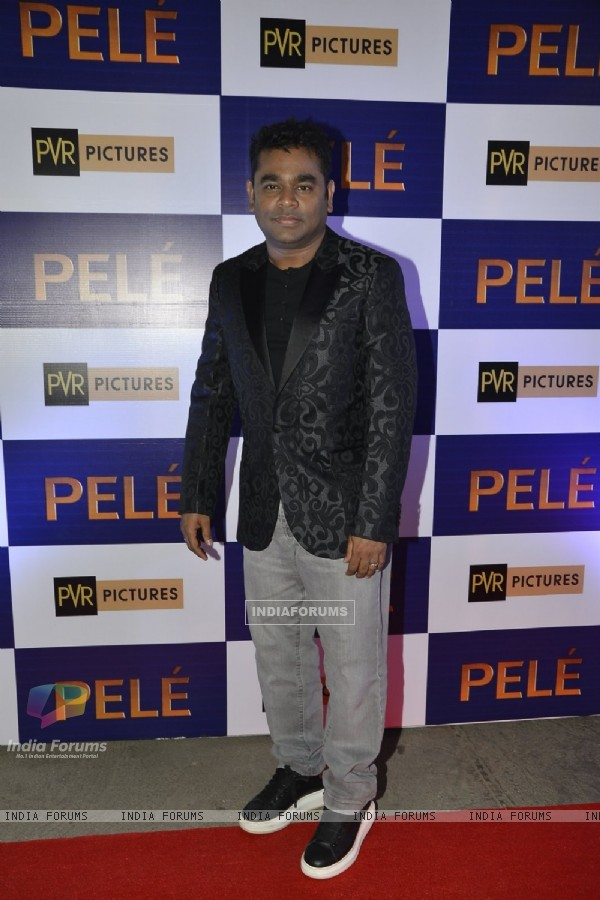 A.R. Rahman at Special Screening of 'Pele'