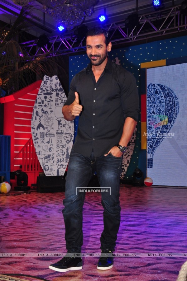 John Abraham at Lonely Planet Awards