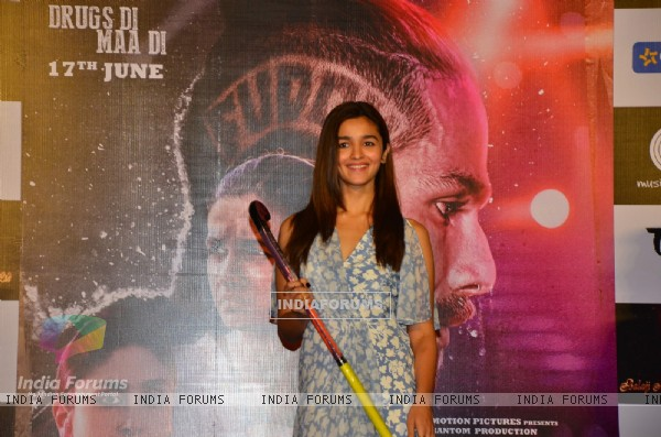 Alia Bhatt at the Song Launch of 'Udta Punjab'