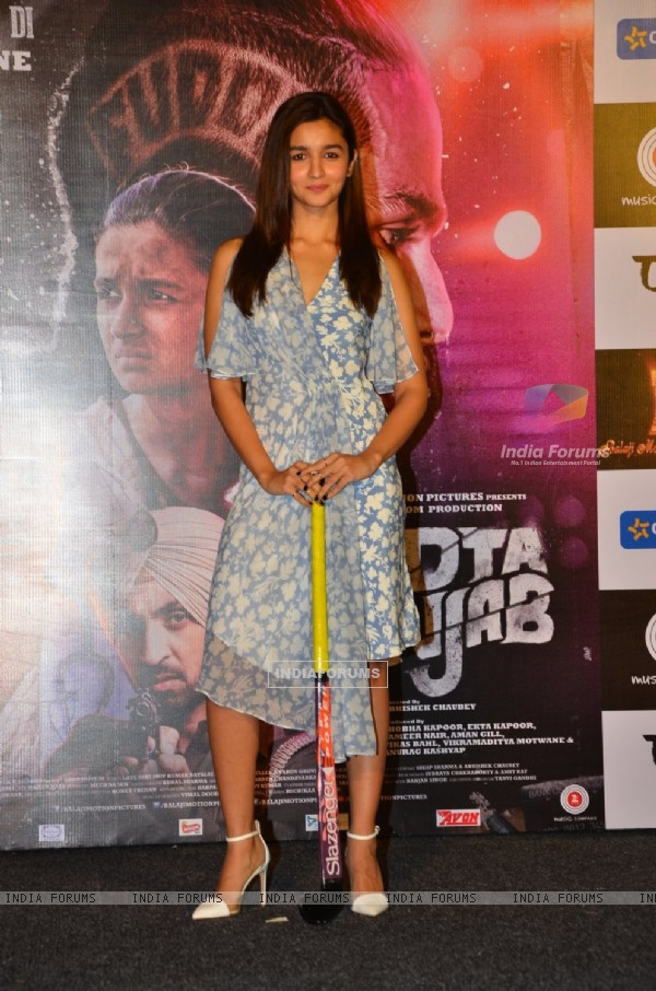 Alia Bhatt at Song Launch of 'Udta Punjab'