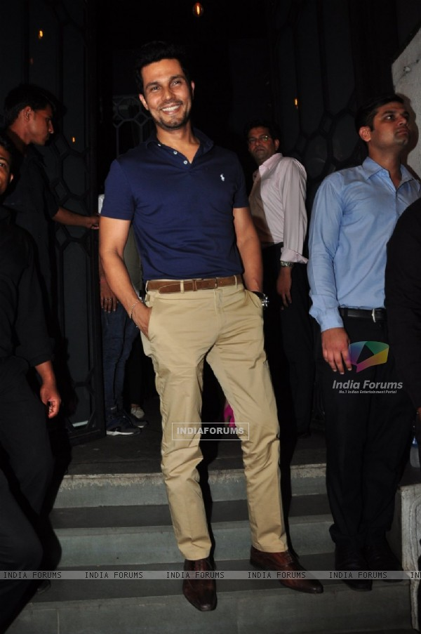 Randeep Hooda at Success Bash of 'Baaghi'