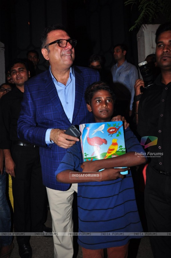 Boman Irani at Success Bash of 'Baaghi'