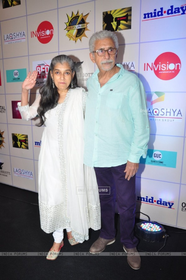 Naseeruddin Shah and Ratna Pathak Shah Grace the 'Ghanta Awards'