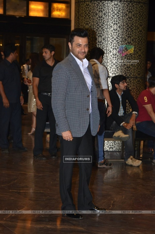 Sanjay Kapoor Graces the Wedding Reception of Preity Zinta & Gene Goodenough