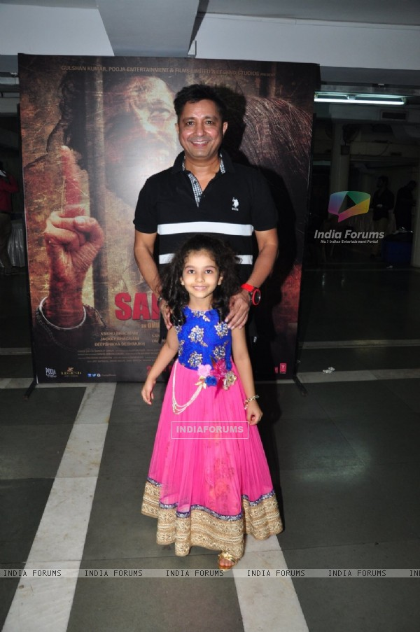 Sukhwinder Singh at Music Launch of 'Sarabjit'