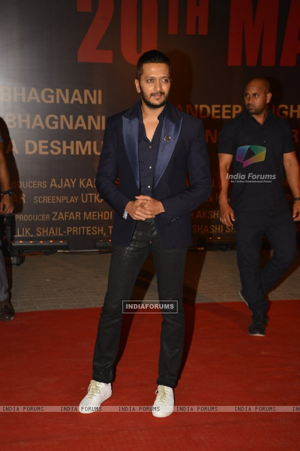 Riteish Deshmukh at Special Premiere of 'Sarabjit'