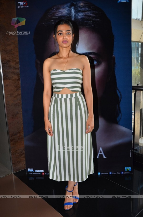 Radhika Apte Promotes the film 'Phobia'