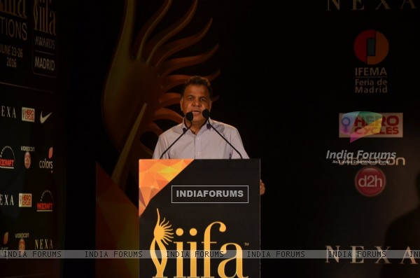 Raj Nayak at IIFA 2016 Press Conference