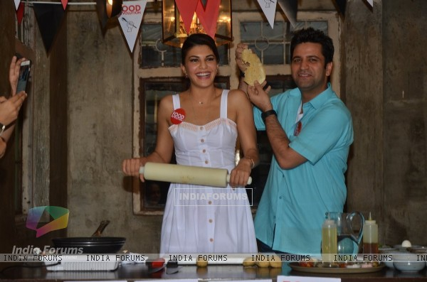 Jacqueline Fernandes Celebrates Food Revolution Day with & Chef Kunal Kapoor