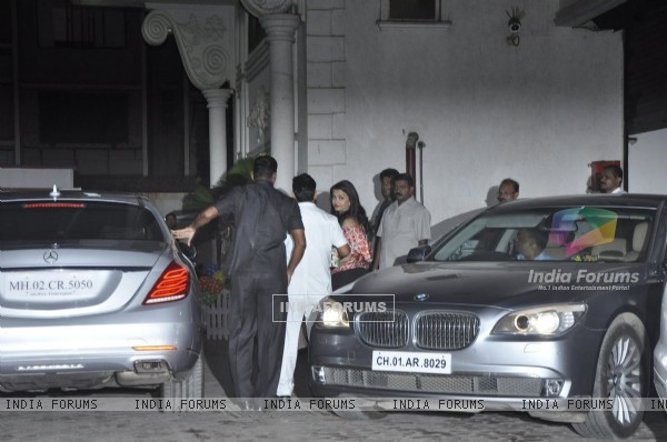 Aishwarya Rai Bachchan at Shilpa Shetty's Son 'Vivan's' 4th Birthday Celebrations
