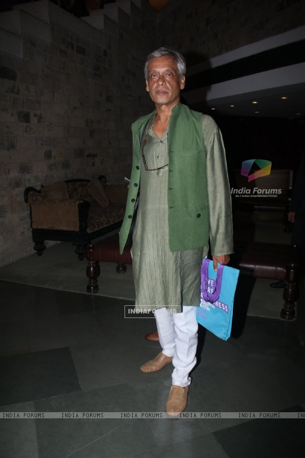 Sudhir Mishra at Miami Film Club Talk with Ian McKellen
