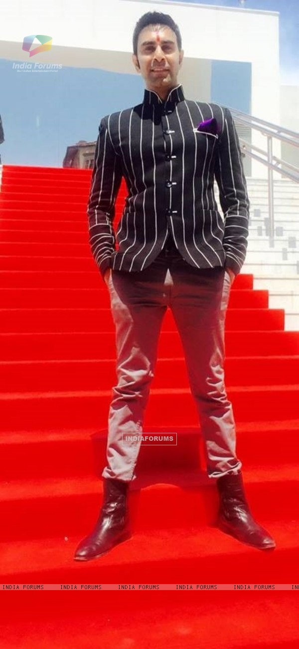 Sandip Soparkar at Cannes Film Festival