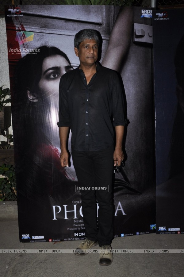 Adil Hussain at Special Screening of 'Phobia'