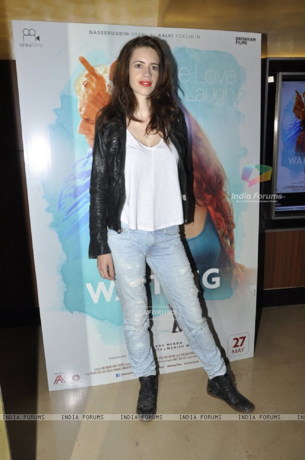 Screening of 'Waiting': Kalki Koechlin!