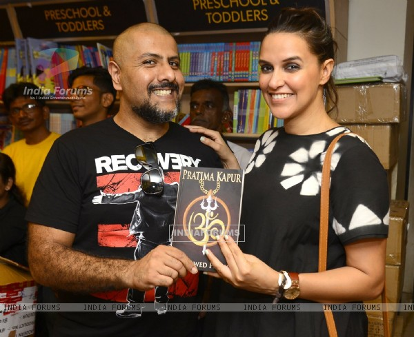 Vishal Dadlani and Neha Dhupia at Launch of Pratima Kapoor's Book
