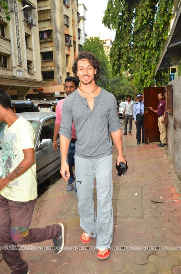 Tiger Shroff Snapped in Bandra