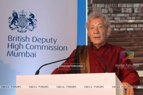 Ian Mckellen at British Council Event