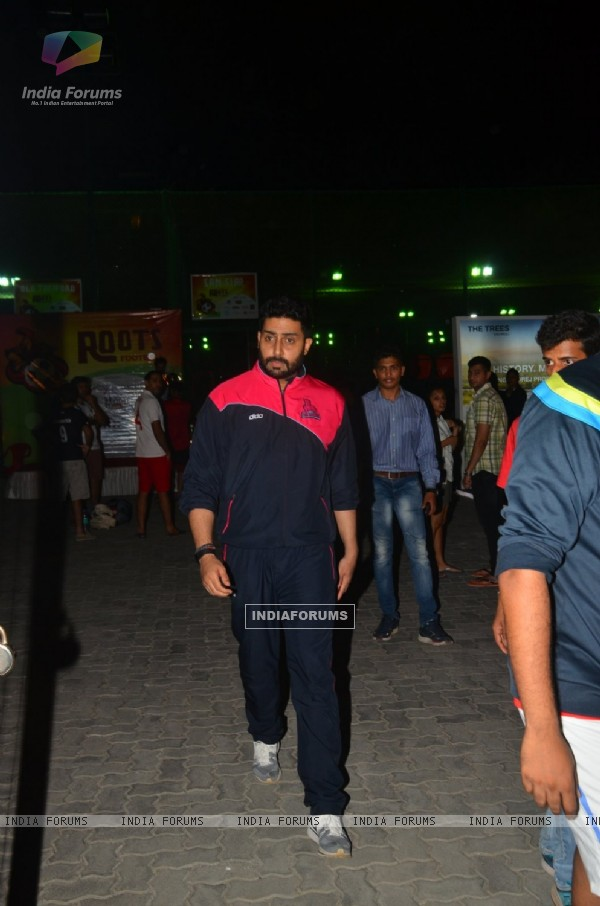 Abhishek Bachchan Snapped Post Soccer Match