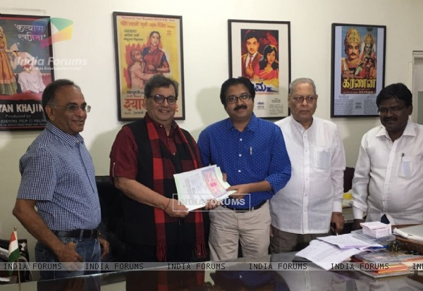Subhash Ghai Submits his films to NFAI
