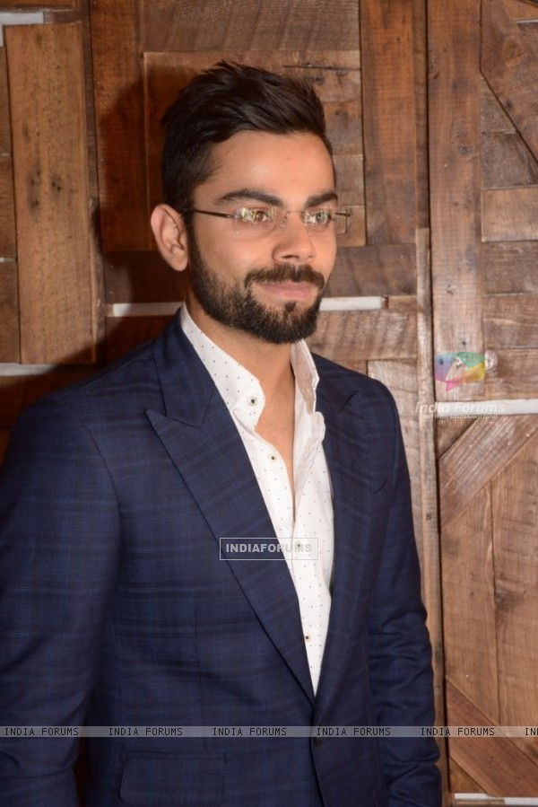 Virat Kohli in Mayyur Girotra for a Book Launch in Delhi