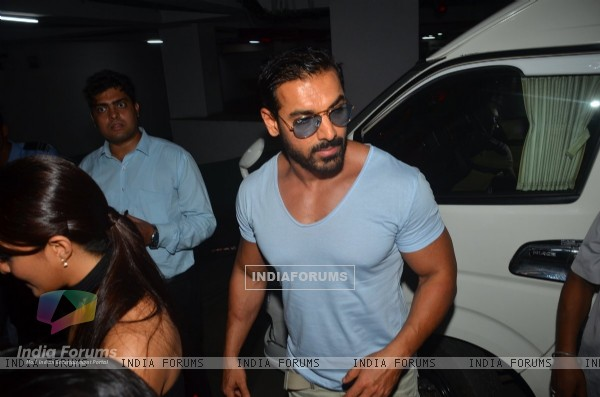 John Abraham at Trailer Launch of 'DISHOOM'