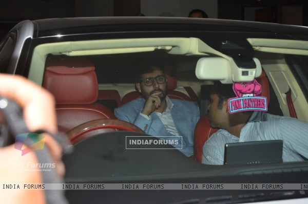 Abhishek Bachchan at the Special Screening of 'Housefull 3'