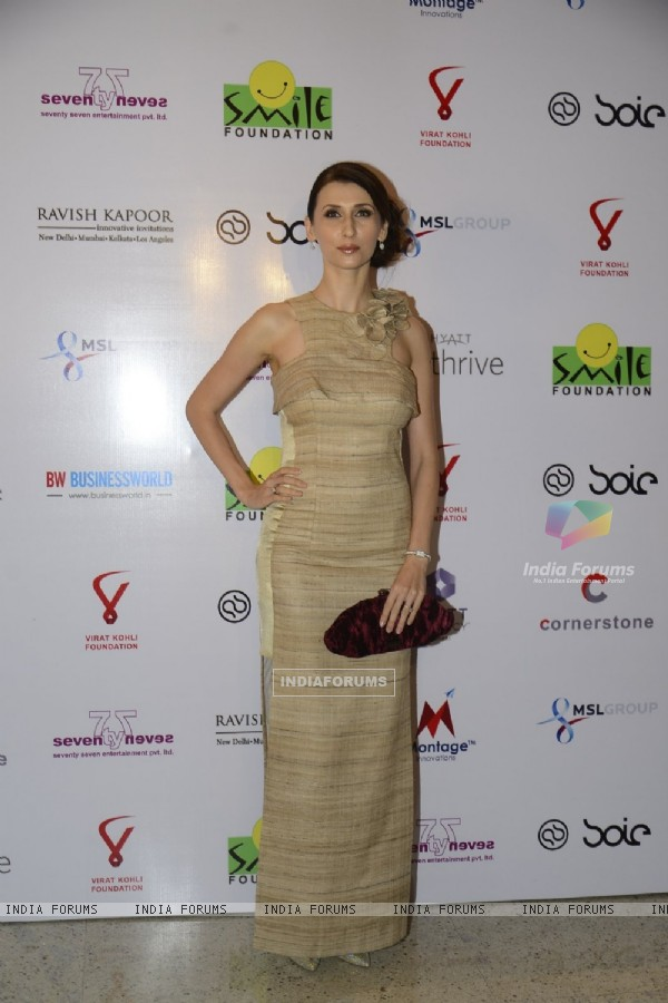 Claudia Ciesla at Virat Kohli's Charity Auction