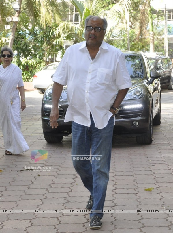 Boney Kapoor at Vikas Mohan's Prayer Meet